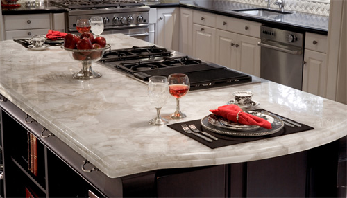 Caesarstone Engineered Quartz Kitchen Counter