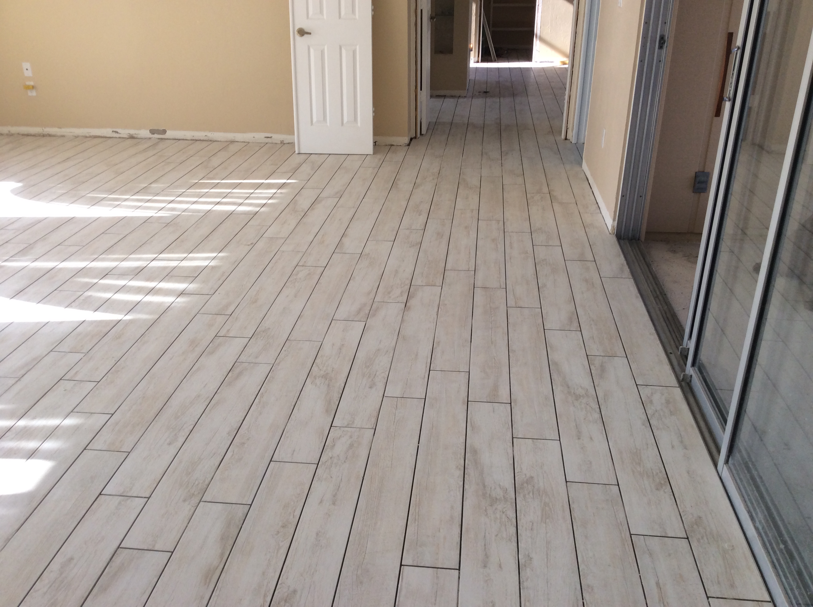 flooring porcelain wood