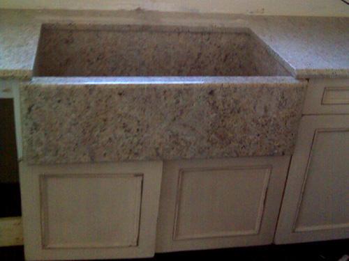 Custom Granite Farm Sinks